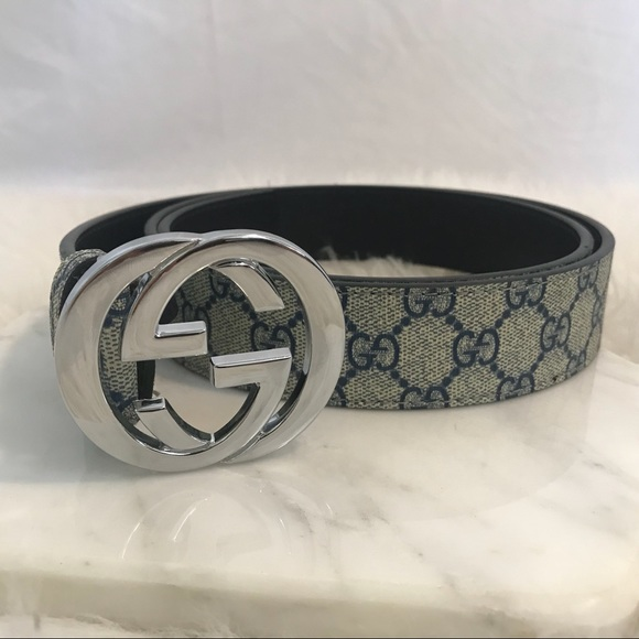 a32308b317a Gucci Accessories - Gucci GG Supreme Belt with G Buckle
